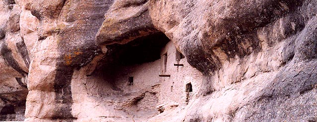Gila Cliff Dwellings, just 4 miles from The Wilderness Lodge!